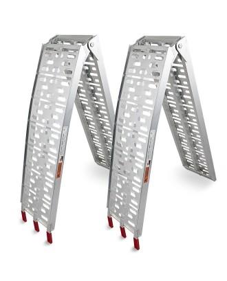 2x aliuminio sulankstoma rampa iki 680kg.